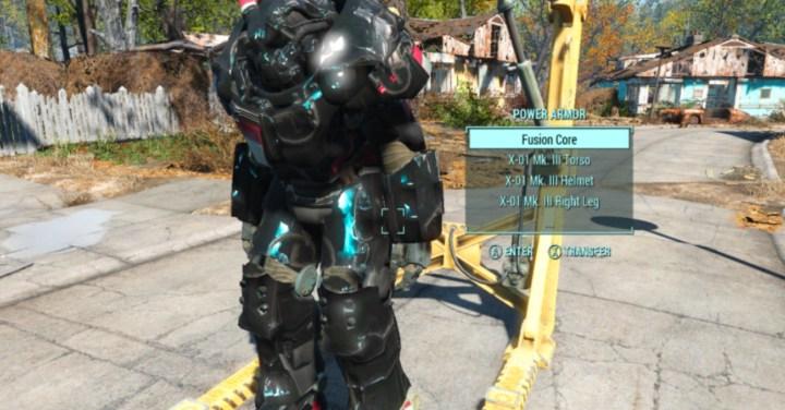 Custom Paint for Power Armor