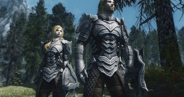 Dragon Carved Armor Set