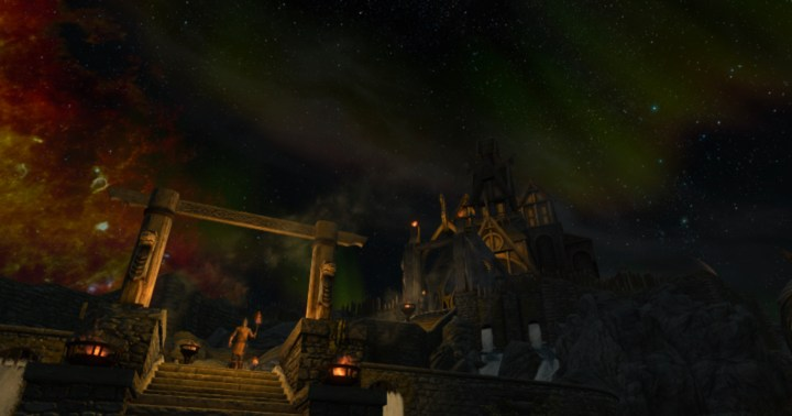 Enhanced Night Skyrim