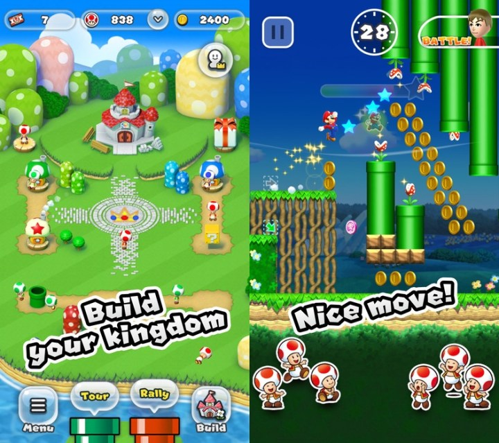 There's no Super Mario Run apk to download yet.