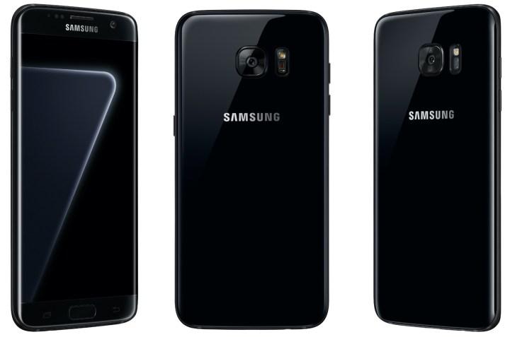 128GB Glossy Black Pearl S7 Edge