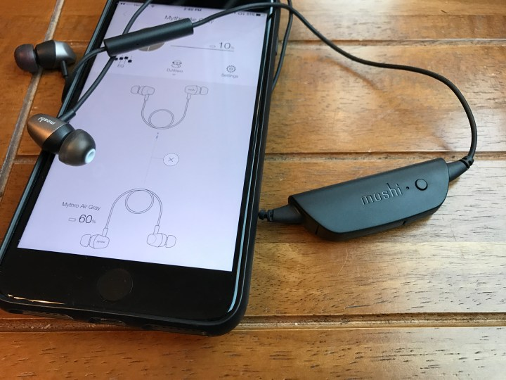 The Moshi Mythro Air bluetooth headphones are great and can stream to a second pair.