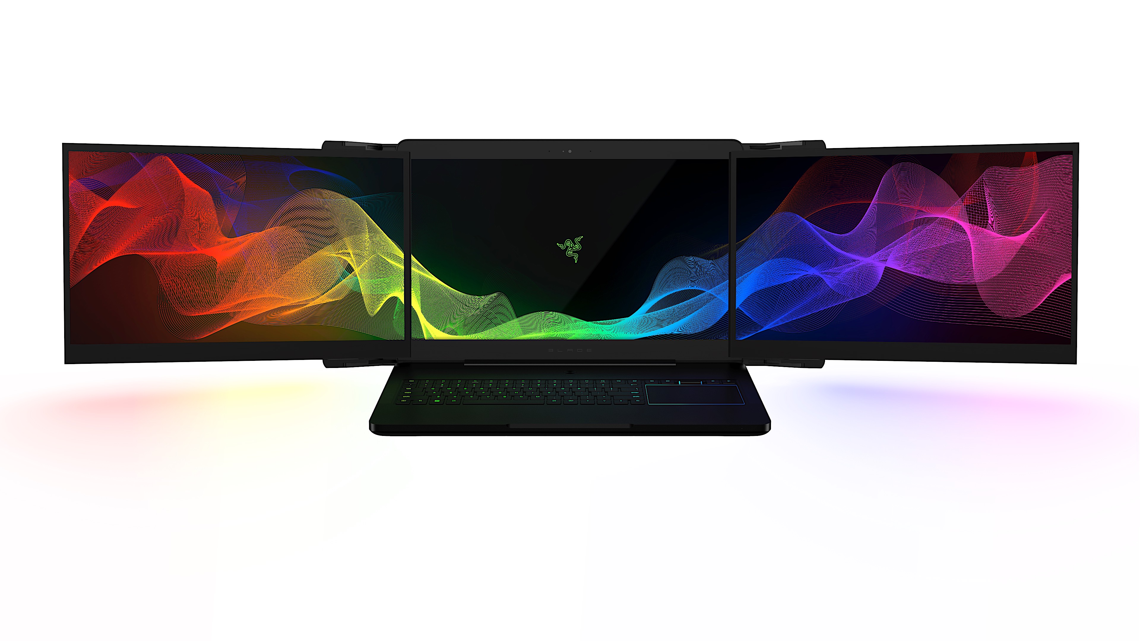 This three-monitor laptop is Razer's latest wild CES concept