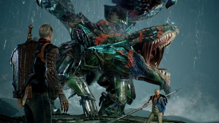 Thuban Roars in Scalebound