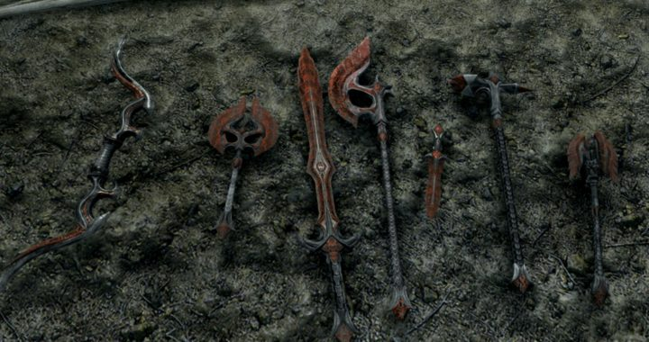 Molten Glass Weapons