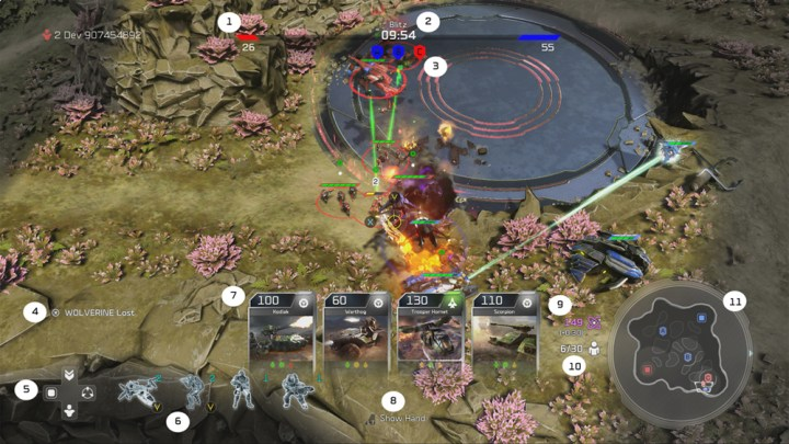 Blitz Mode Halo Wars 2 Beta17