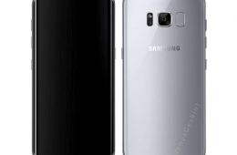 Render showing what the Galaxy S8 will look like
