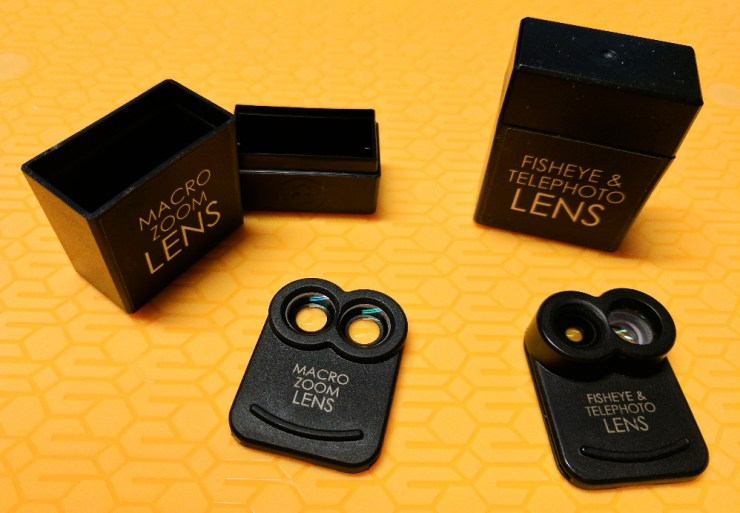 kamerar zoom lens kit boxes
