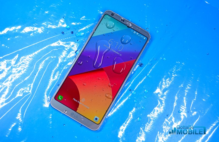 Galaxy S8 vs LG G6: Design