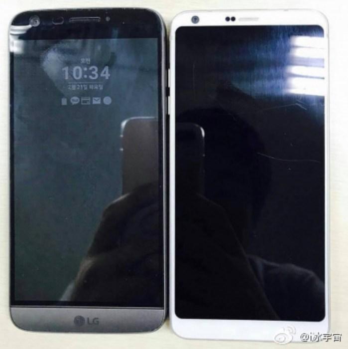 LG G6 vs LG G5: Design