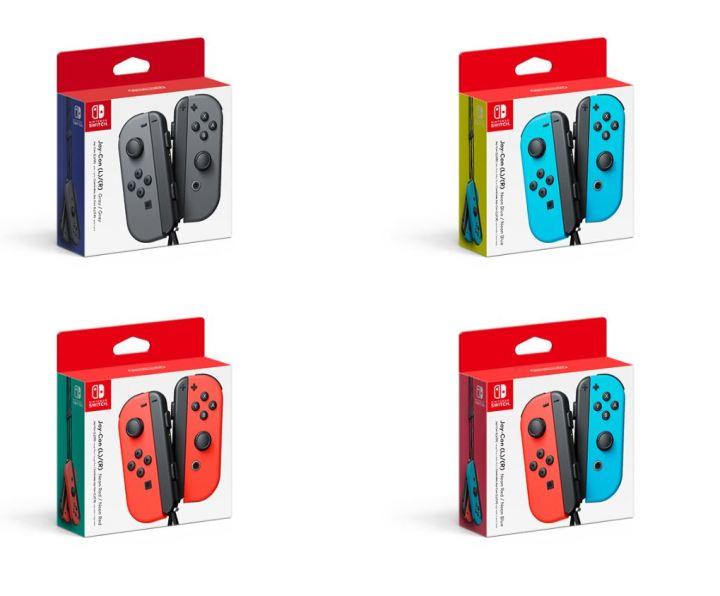 Nintendo Switch Joy-Con Packs
