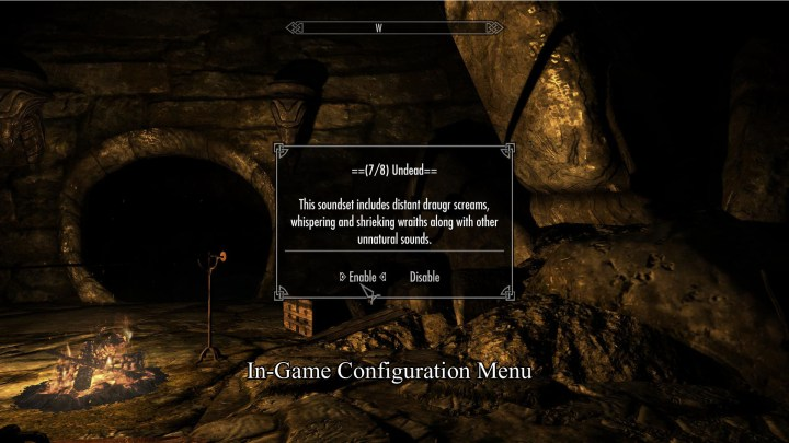 Sounds of Skyrim: The Dungeons