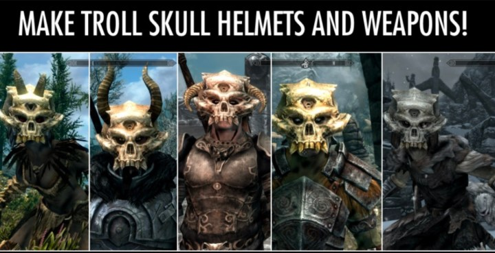 HUNT: Troll Skulls, a Hunters of Unusual and New Trophies Mod