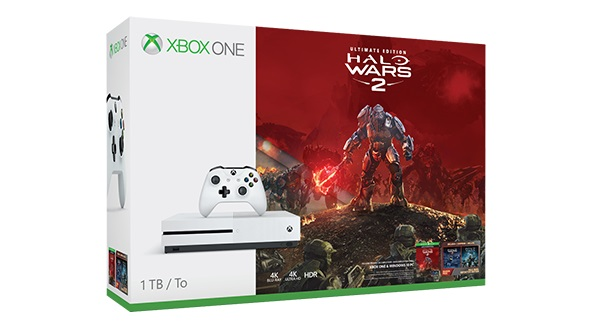 halo wars 2 Xbox One bundle