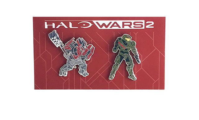 Halo Wars 2 Ultimate Edition pins.