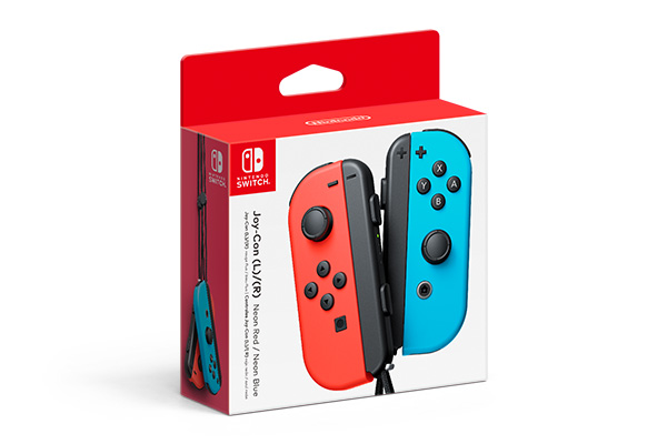Nintendo Switch Joy-Con Red and Blue