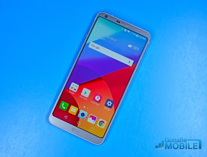 LG G6 vs LG G4: Display