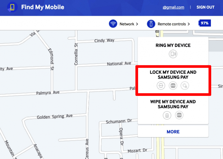 Samsung-findmymobile