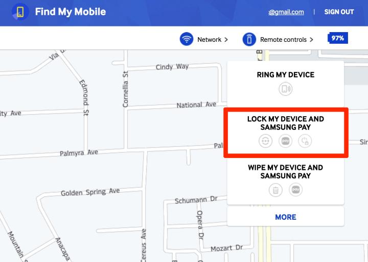 Samsung-findmymobile