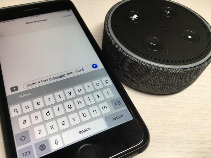 Send a Text Message with Alexa