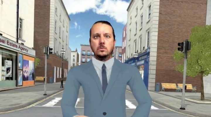 Example of a 3D Selfie in a game.