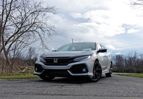2017 Honda Civic Hatchback Sport Touring Review - Front