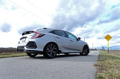2017 Honda Civic Hatchback Sport Touring Review - back side