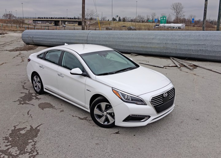 The 2017 Hyundai Sonata Plug-In Hybrid .