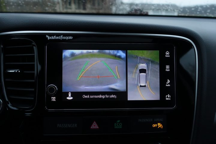 A multi-view camera system is one of the safety features we loved.