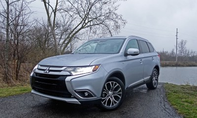 The 2017 Mitsubishi Outlander GT.