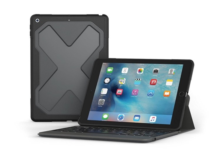 ZAGG Rugged Messenger Case with Bluetooth Keyboard