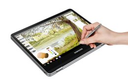 Samsung Chromebook Plus with S Pen in Tablet