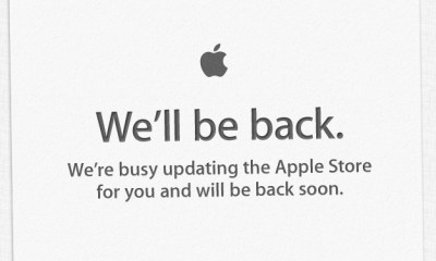 The Apple Store is going down tonight and you could wake up to see new Apple products without an event.