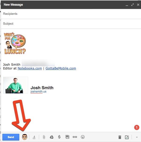 How to use Bitmoji in Gmail.