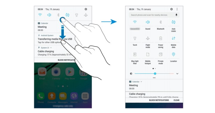 Install It for the Changes to Quick Settings