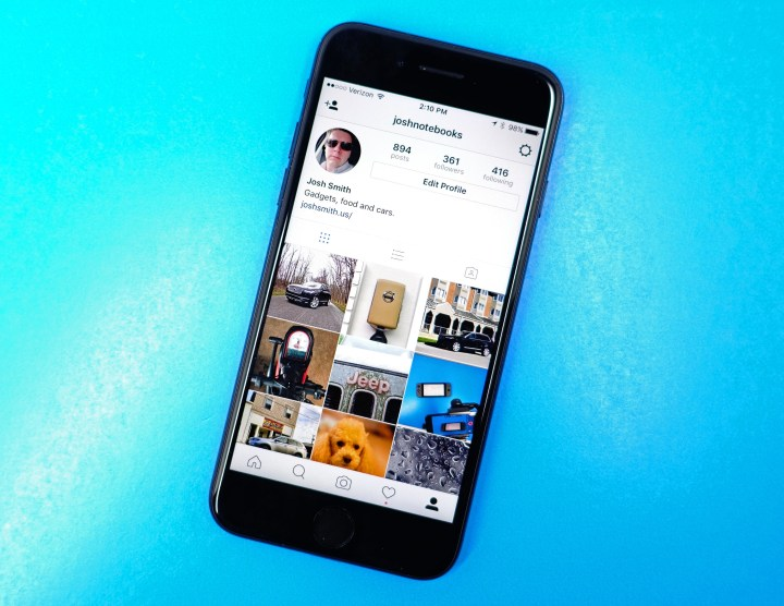 You may need to update your Instagram profile to fix some problems.