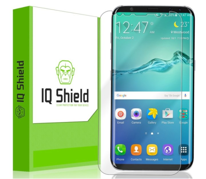 IQ Shield LiquidSkin for Galaxy S8