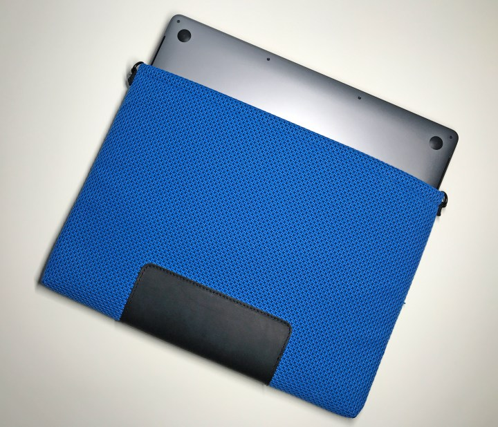 This is a stylish, slim and protective MacBook Pro sleeve.