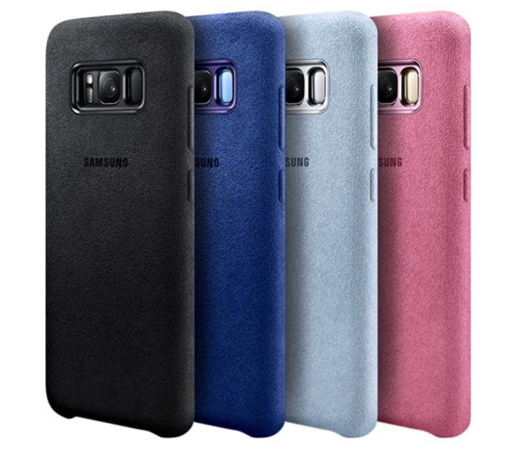 Samsung Alcantara Case ($20)