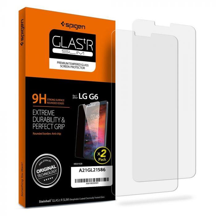 Spigen Glass LG G6 Screen Protector (2-Pack)