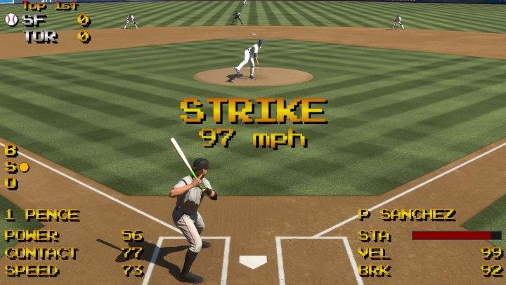 MLB The Show 17 Retro Mode