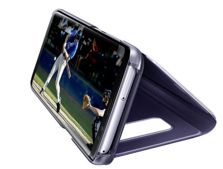 Samsung Clear View Standing Case
