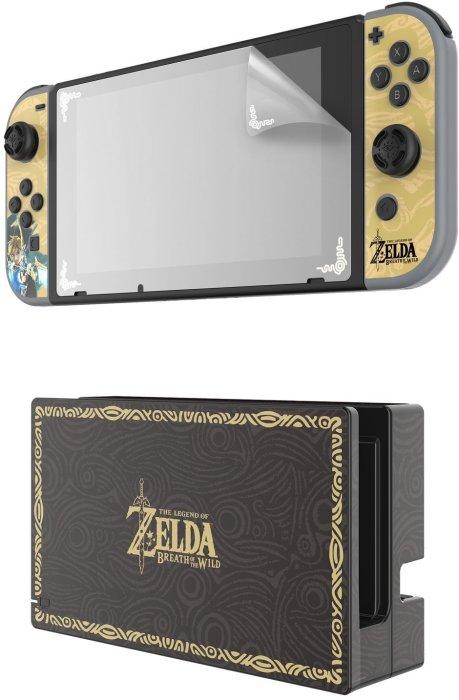 Nintendo Switch Zelda Collector's Edition Screen Protector & Skins - $12.96