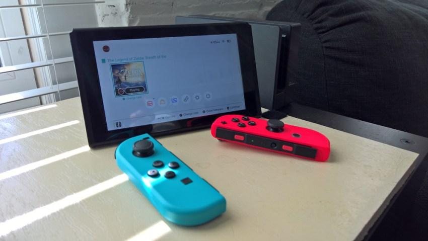Nintendo Switch with Joy-Cons