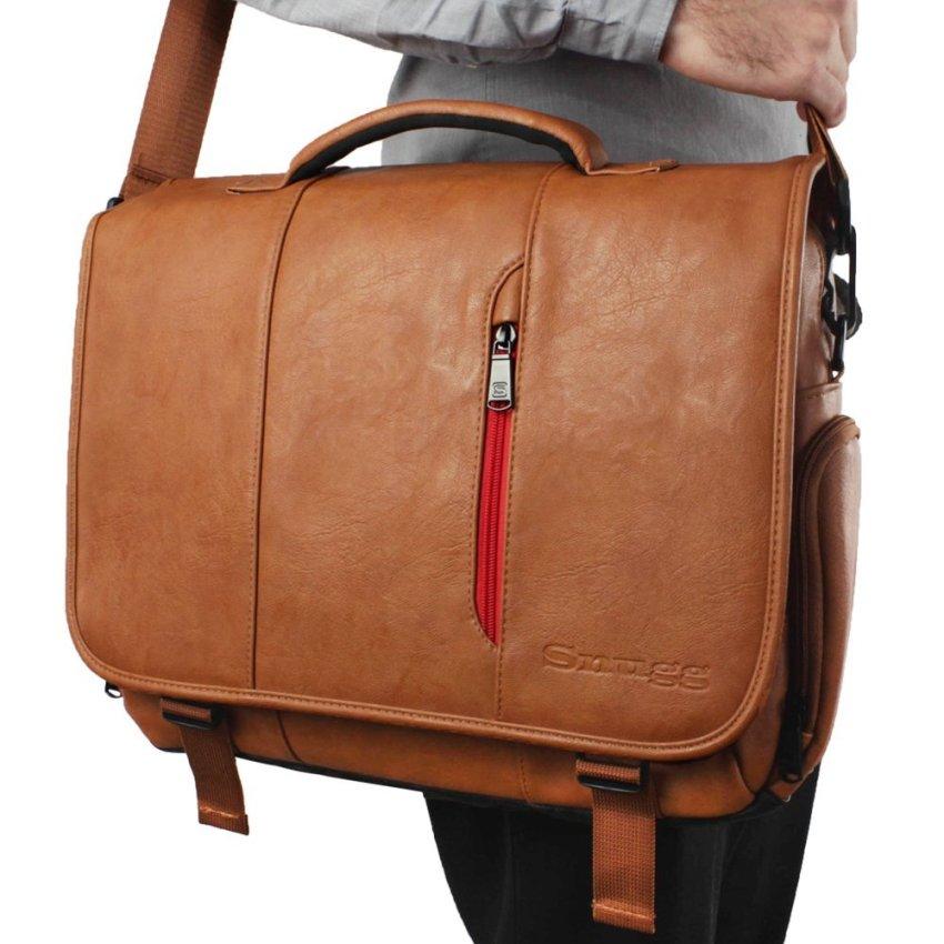 snugg 15-inch messenger bag shoulder