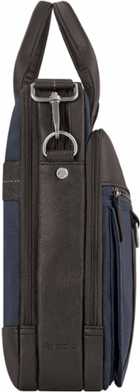 solo badford laptop briefcase side view