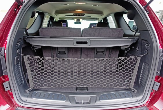 2017 Dodge Durango Review - storage