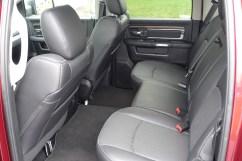 2017 Ram 2500 Review - backseat
