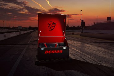The Demon Crate holds components that maximize the 2018 Dodge Challenger SRT Demon's flexibility, exclusivity and future collectability.