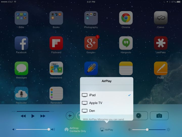 Mirror your Mac or iPhone to the TV